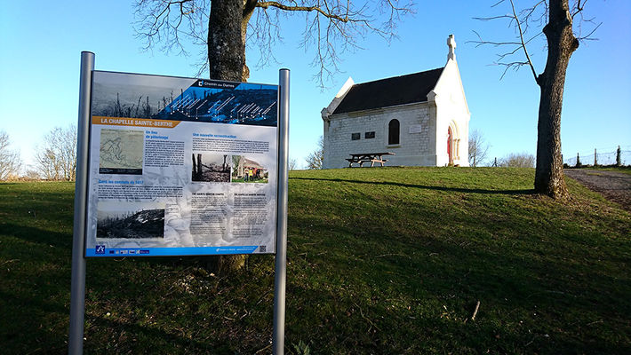 Chapelle Sainte Berthe 2019 < Filain < Aisne < Picardie