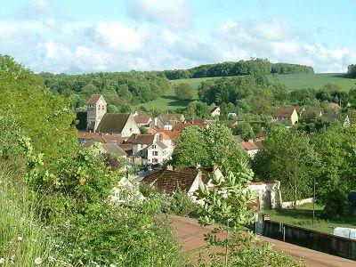 Vue sur le village < Epaux Bézu < Aisne < Picardie