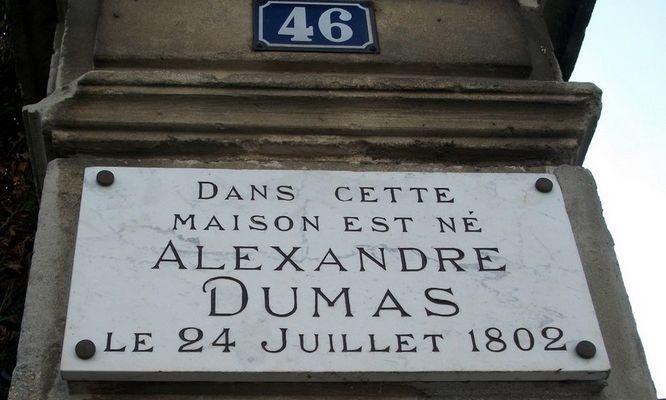 maison natale d'Alexandre Dumas pere Villers-Cotterets - pilier d'entree