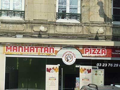 manhattan pizza Soissons < Aisne < Picardie