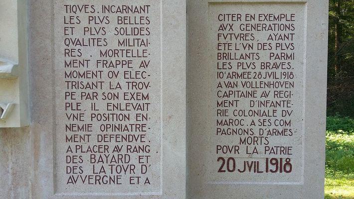 mausolé Van Vollenhoven Villers-Cotterets©OT Villers-Cotterets (4)