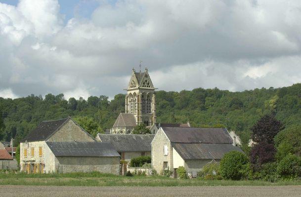 Village de Vasseny et son église