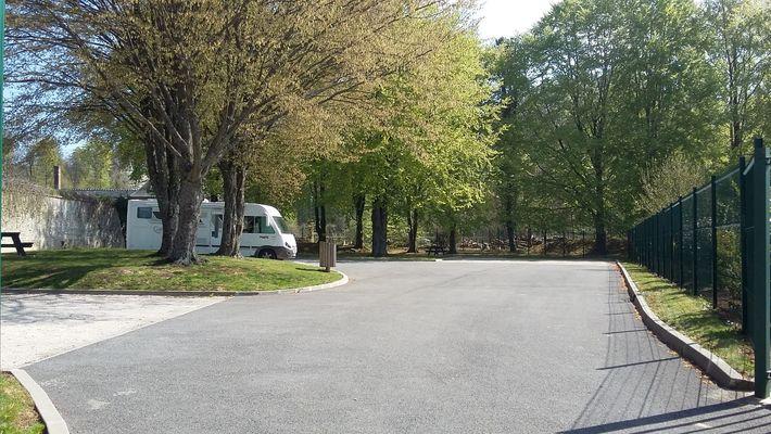 aire de stationnement camping-car Villers-Cotterets © OT Villers-Cotterets (2)