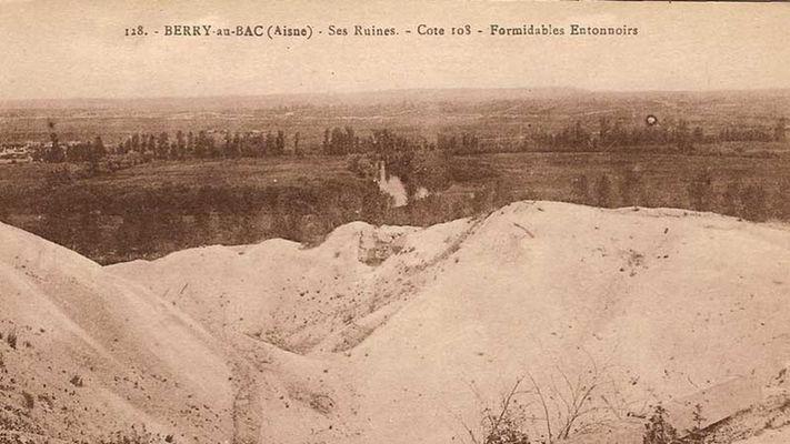 Côte 108 II carte postale < Berry-au-Bac < Aisne < Picardie