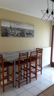 cuisine bar et chaise