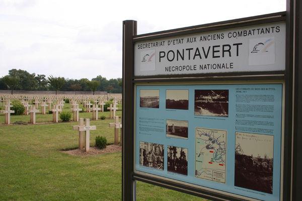 Cimetière français II < Pontavert < Aisne < Picardie