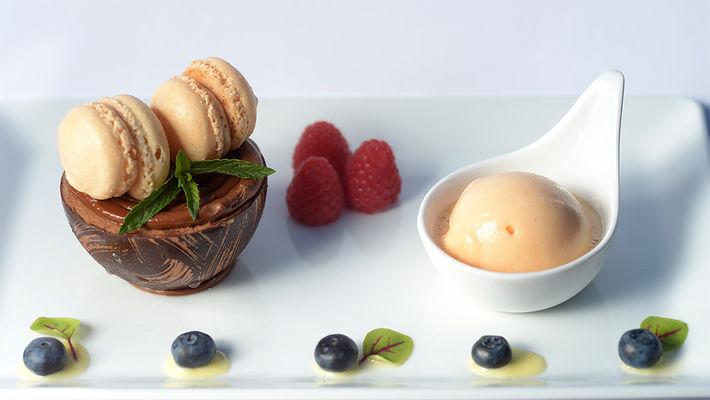 Restaurant Le Jardin dessert < Neufchâtel-sur-Aisne < Aisne < Picardie