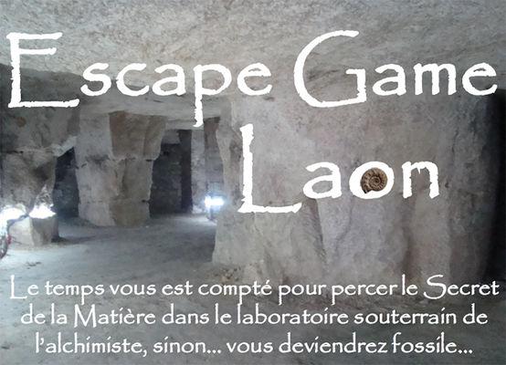 Escape game souterrains ESCAL < Laon < Aisne < Hauts-de-France