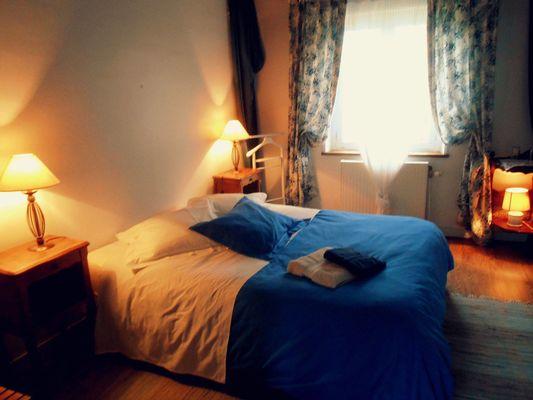 le moulin de heurteville chambre bleue