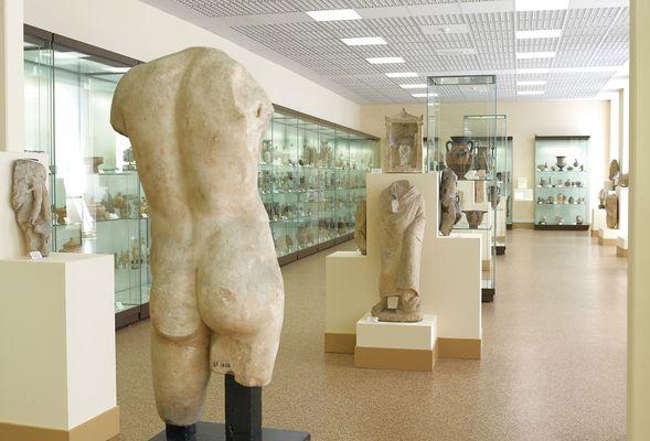 Nouvelle salle d'archéologie du Musée de Laon