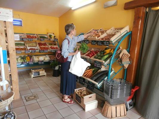 rayons légumes bio+raisonné