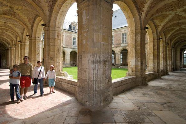 Visite de l'abbaye de Saint-Michel