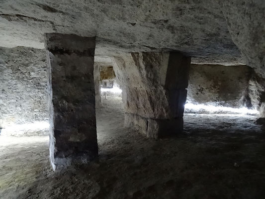 Visite des souterrains ESCAL IV < Laon < Aisne < Picardie