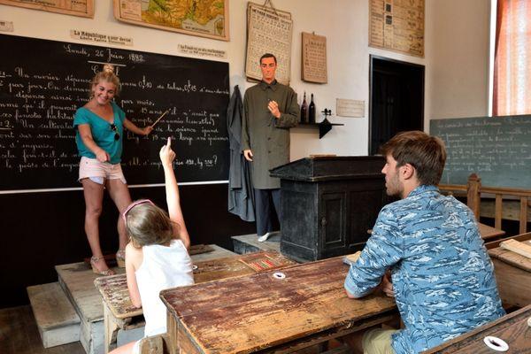 Le musée de l'école publique à Chevregny