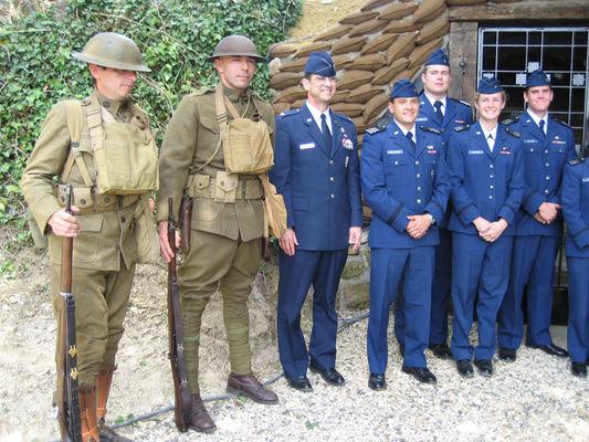 Monument de la 26e Yankee Division 2015 III < Braye-en-Laonnois < Aisne < Picardie