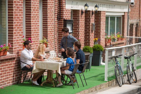 Pause déjeuner à la Taverne du Château à Guise
