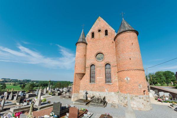 Eglise fortifiée de Malzy