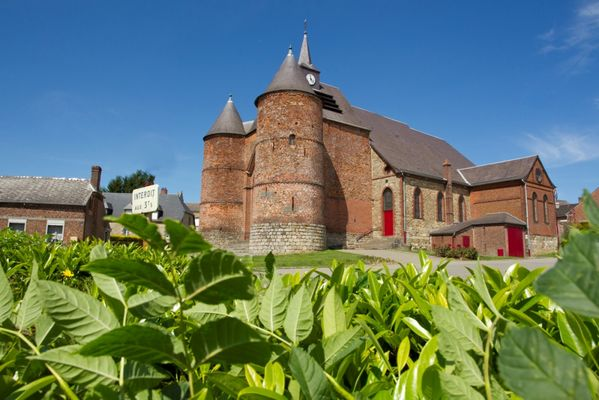 Eglise fortifiée de Wimy