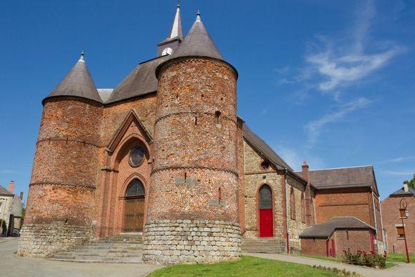 L'église fortifiée de Wimy