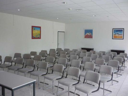 Une salle de réunion