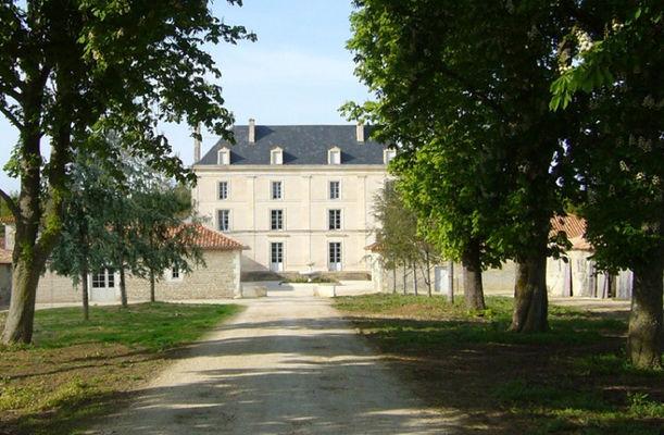 Le château de la Bône à Granzay-Gript