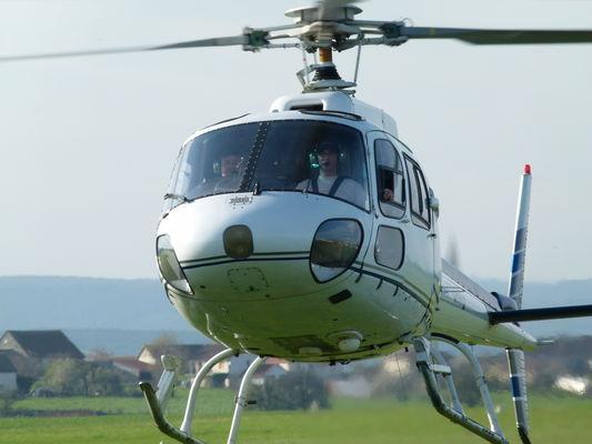 016 Procoptère Helico de face en vol