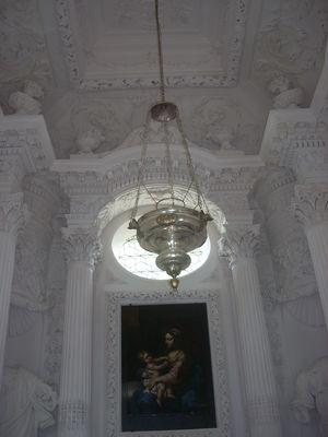 Chapelle de Cruzille - vue intérieure