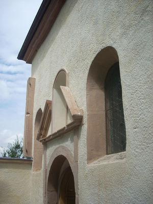 Chapelle de Cruzille - vue extérieure