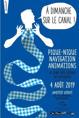 A Dimanche  sur le Canal - Hédé Bazouges -5aout