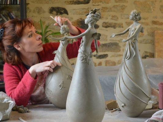 Atelier Terre Précieuse - Artisans d'art - La Chapelle-Caro - Val d'Oust - Morbihan - Bretagne