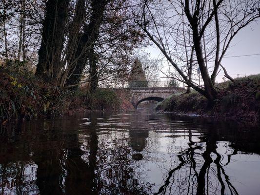 Auberge le Pont du Secret_Paimpont_pont