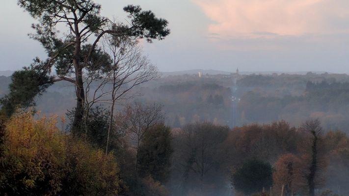 Auberge le Pont du Secret_Paimpont_vue sur Beignon