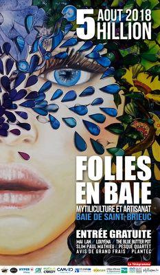 AFFICHE FOLIES EN BAIE 2018 17 5-30