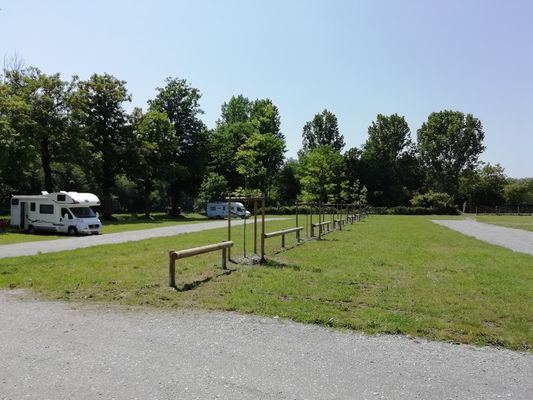 Aire naturelle camping-cars - Josselin - Morbihan - Bretagne