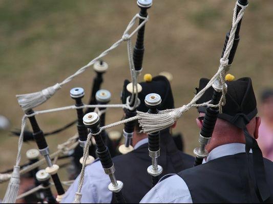 Festiv'été - Concert Askol Ha Brug - Pipe band - Josselin - Morbihan - Bretagne