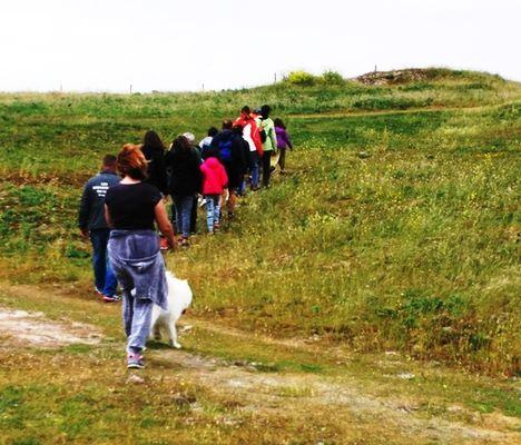 Promenade sur les dunes avec 3P