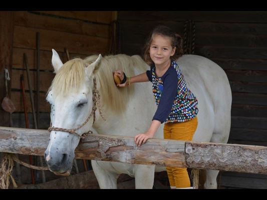 Balade à cheval avec Lung-Ta la Claie des Landes - Sérent - Morbihan