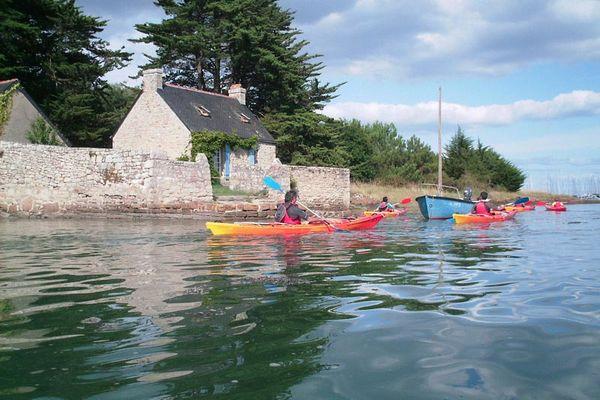 Balade kayak en rivière de Pont l'Abbé