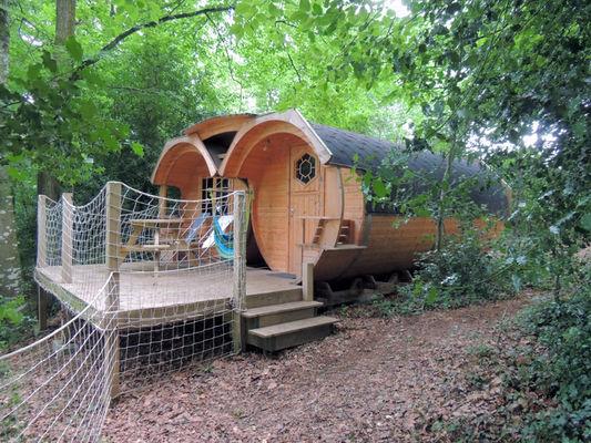 Baricanes - Hébergement insolite - Camping Domaine du Roc - Morbihan - Bretagne