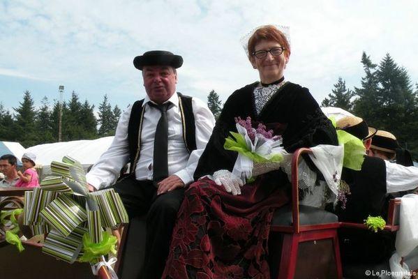 Fête des boudins à Tante Thurine - Le Roc Saint-André - Val d'Oust - Morbihan - Bretagne