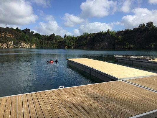Brocéliande Dive Center - Plongée - Carrières de Quily - Val d'Oust - Morbihan - Bretagne