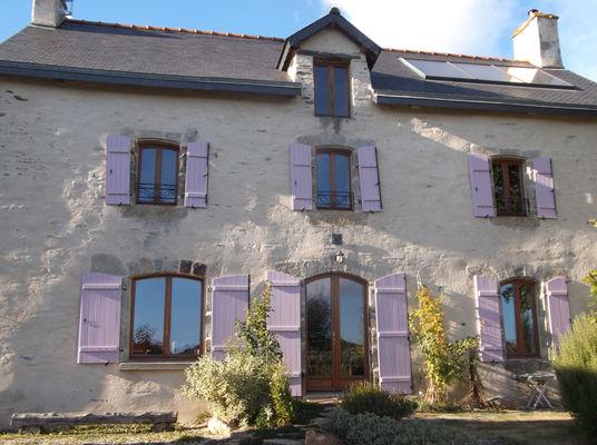 Facade La claie des landes - Sérent - Morbihan - 2016