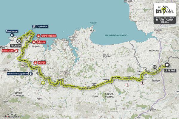 Carte-etape-6--TourDeBretagne