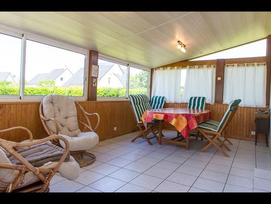 Chambres d'hôtes Mme Michel véranda - Malestroit - Morbihan Bretagne