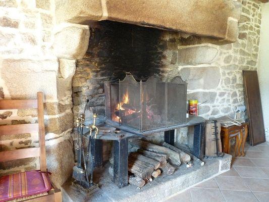 Chambres d'hôtes Métairie de la Béraudaie bien au chaud - Bohal - Morbihan - Bretagne