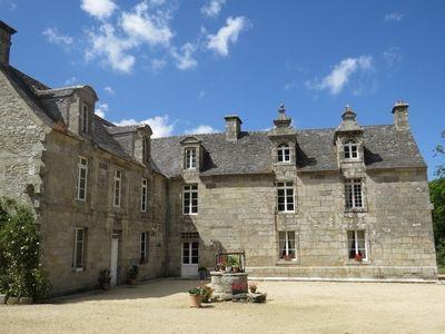Cléder- Château de Kermenguy