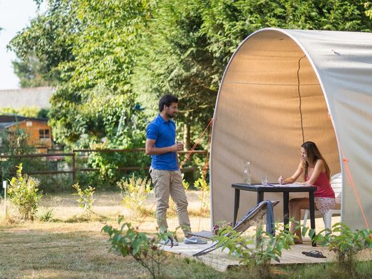 Coco Duo - Hébergements insolites - Camping des Cerisiers - Guillac - Morbihan - Bretagne