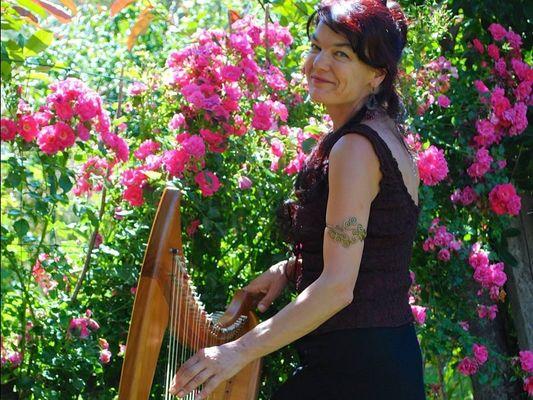 Concert Lawena - Harpe - Maison des Arts - Josselin - Morbihan - Bretagne