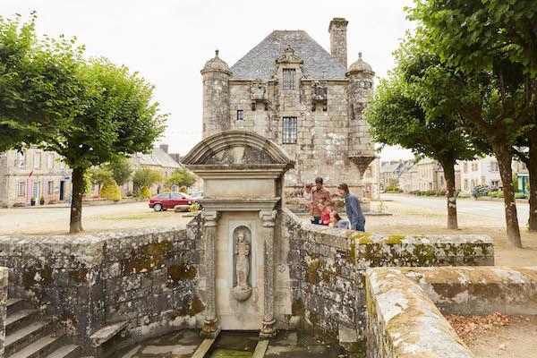 Guerlesquin-fontaine