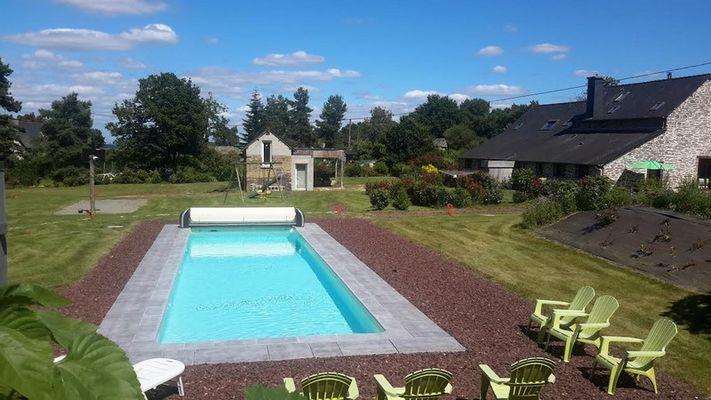 Gîte_La Lande Orain_ St Thurial_piscine